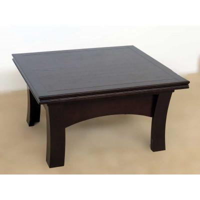 Деревянный журнальный столик Визит 8