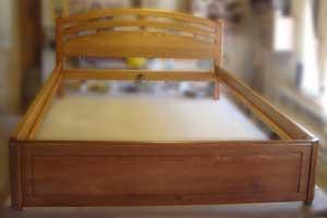 Односпальная кровать без ящиков